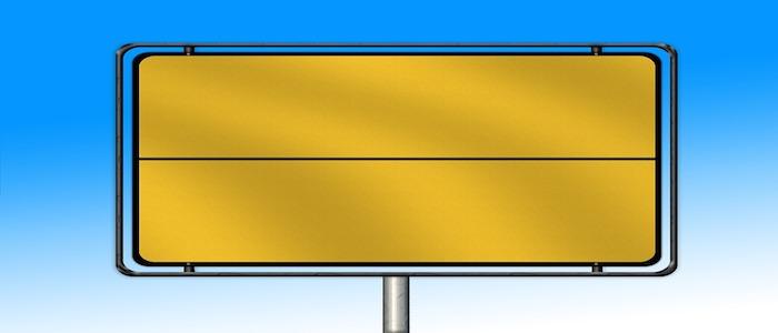 billboard snelweg
